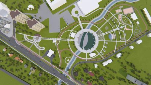 Детальний план парку